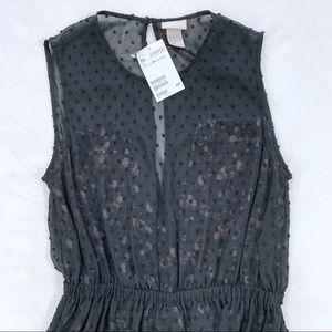 H&M Dresses - H&M Sleeveless Open Back Dress